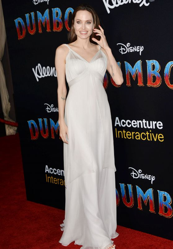 "Angelina Jolie – ""Dumbo"" World Premiere in Hollywood"