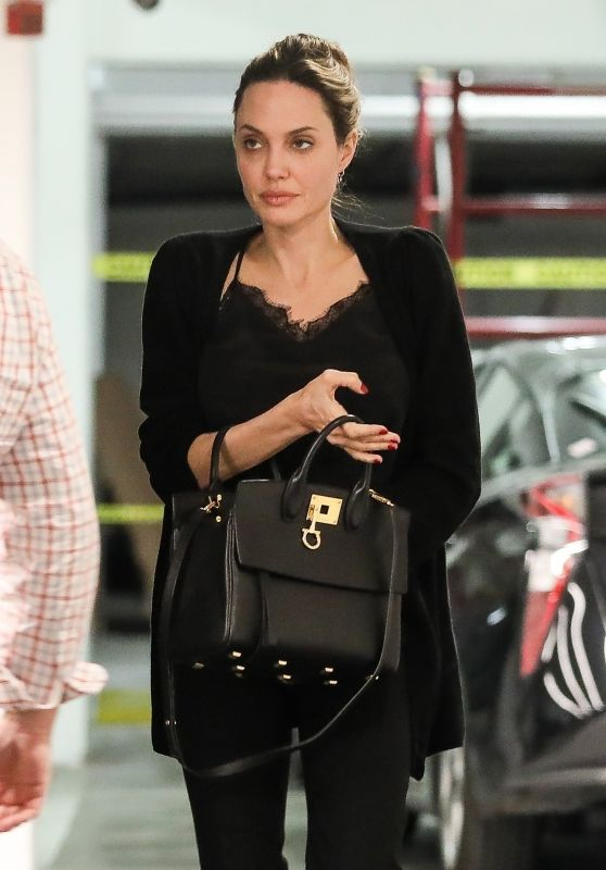 Angelina Jolie - Heads to a meeting in Beverly Hills 03/14/2019