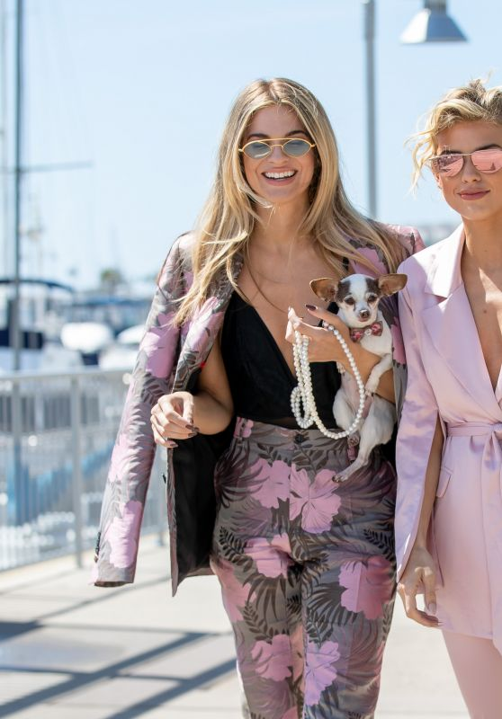 AnnaLynne McCord and Rachel McCord out in Marina del Rey 03/20/2019