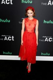 "AnnaSophia Robb - ""The Act"" Premiere in New York 03/14/2019"