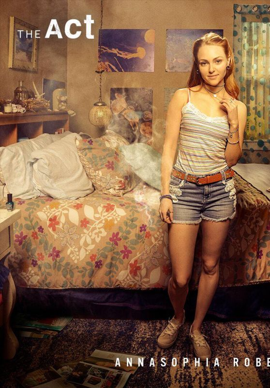 "AnnaSophia Robb - ""The Act"" Promo Photo and Trailer"