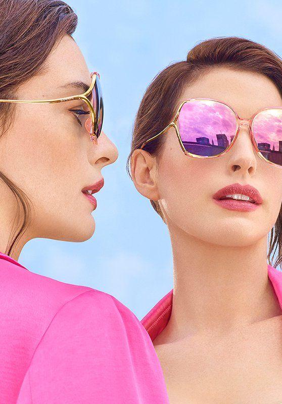 Anne Hathaway - Bolon Eyewear 2019 Campaign