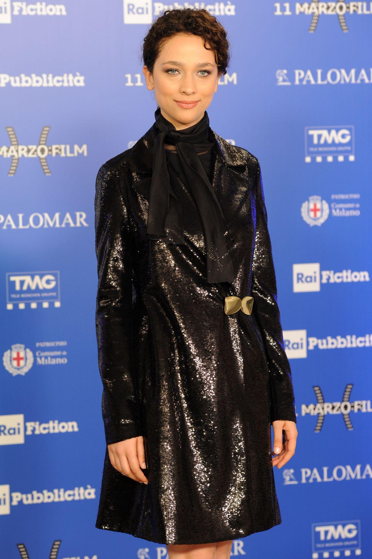 Antonia Fotaras The Name Of The Rose Tv Show Premiere