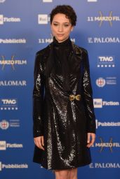 "Antonia Fotaras – ""The Name of the Rose"" TV Show Premiere in Milan"