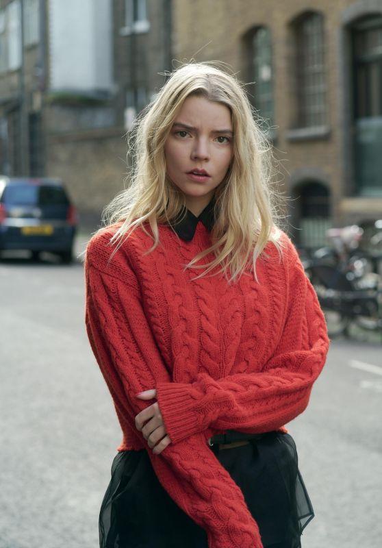 Anya Taylor-Joy - Crash Magazine Fashion Issue 2019 Photos
