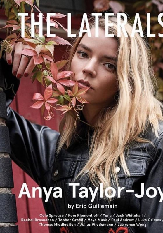 Anya Taylor-Joy - The Laterals Issue #2, 2019