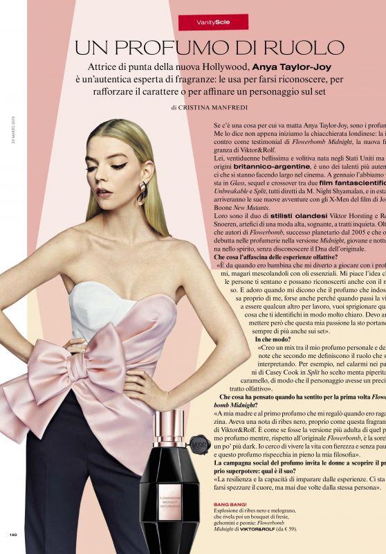 Anya Taylor-Joy - Vanity Fair Italia March 2019 Issue