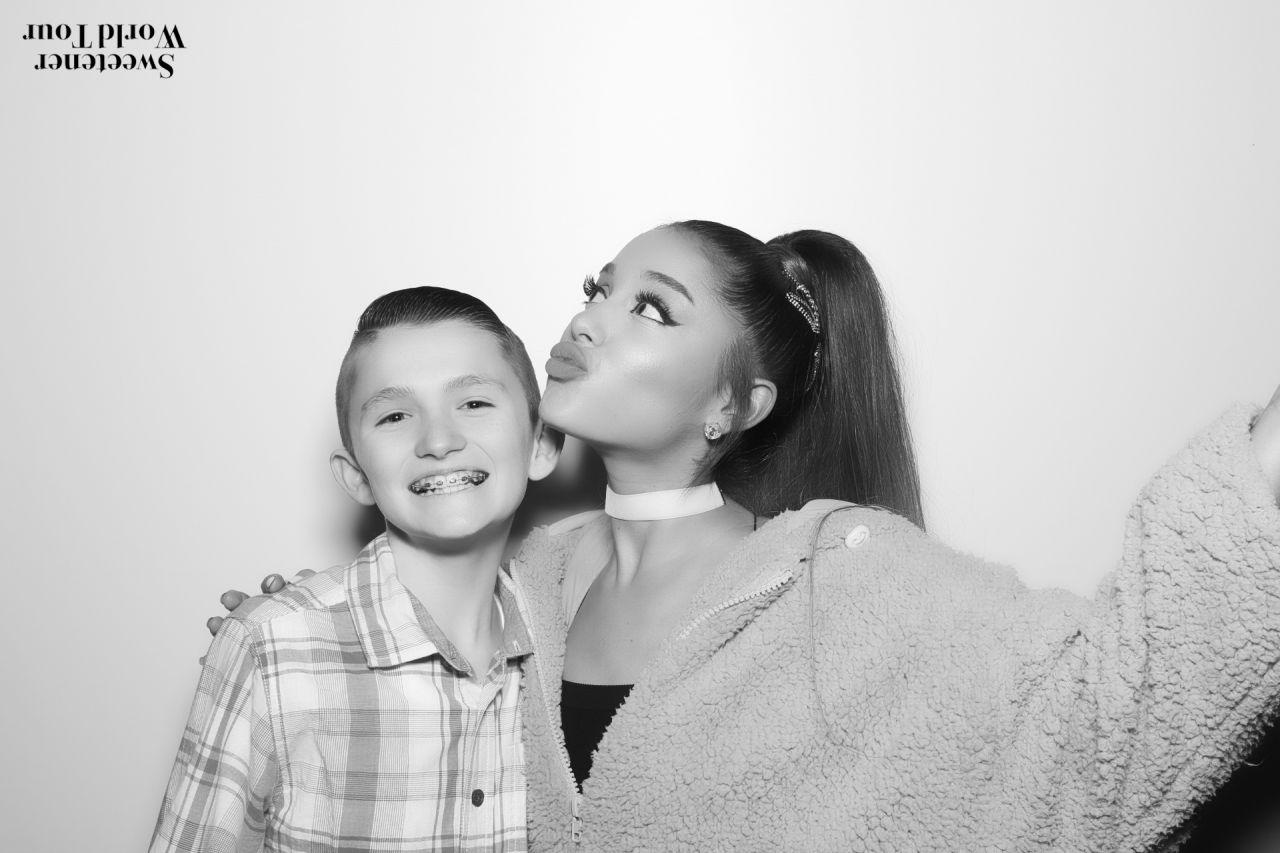 Ariana Grande Sweetener World Tour Meet Greet In Boston 03 20 2019 Celebmafia