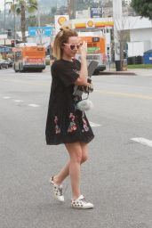 Ashley Tisdale is Stylish - Outside Joan