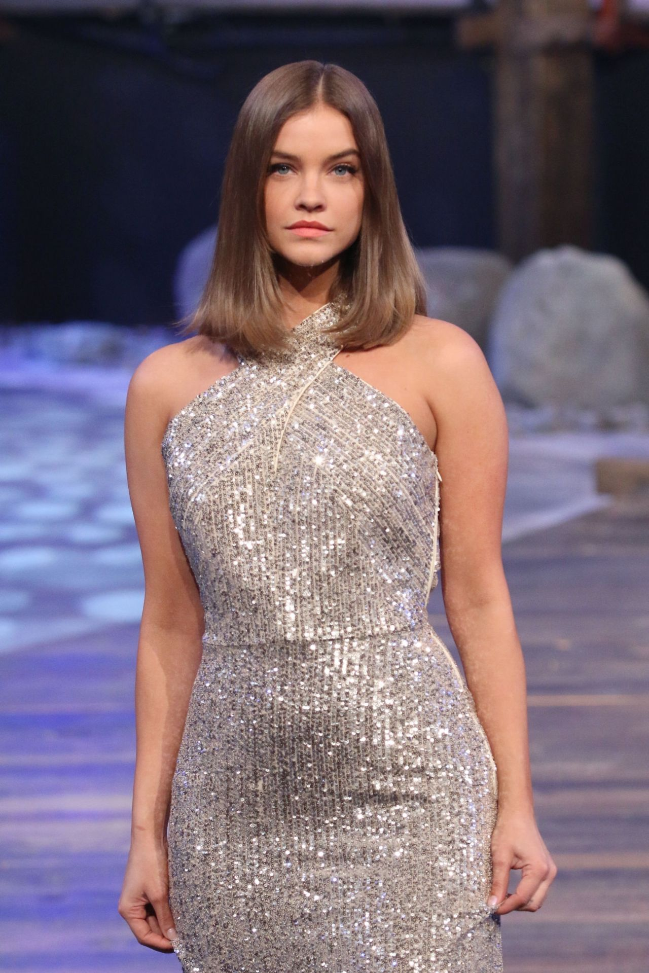 Barbara Palvin Walks Liverpool Fashion Fest In Mexico