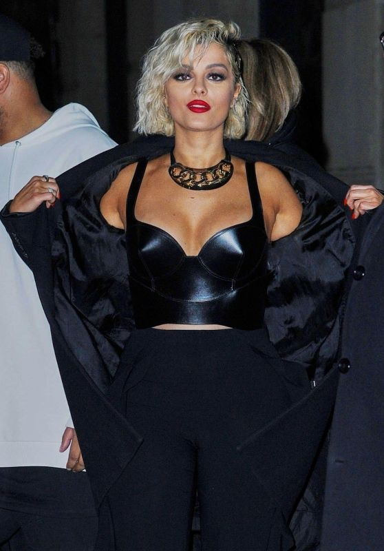 Bebe Rexha - Leaving The Late Show With Stephen Colbert 03/04/2019