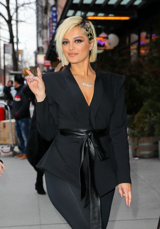 Bebe Rexha - Out in NYC 02/27/2019