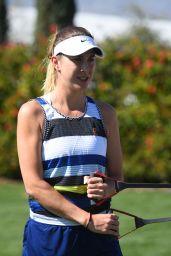 Belinda Bencic – Training at the 2019 Indian Wells Masters 03/13/2019