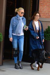 Bella Hadid and Yolanda Hadid - Out in NYC 03/30/2019