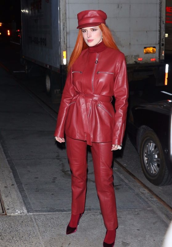 Bella Thorne - Leaves Her Performance at Carnegie Hall in NYC 03/25/2019