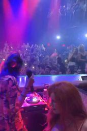 Bella Thorne - Lil Jon DJ set at Liv Miami 03/13/2019