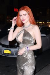 Bella Thorne Looks Stylish - Arriving at Carnegie Hall in NYC 03/25/2019