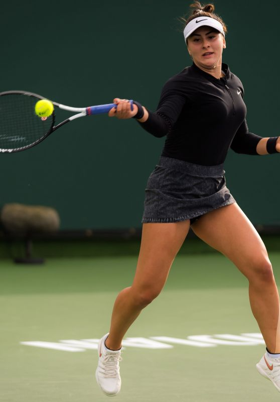 Bianca Andreescu – Indian Wells Masters 03/10/2019