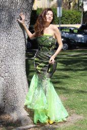 Blanca Blanco - Photoshoot at the Park 03/16/2019