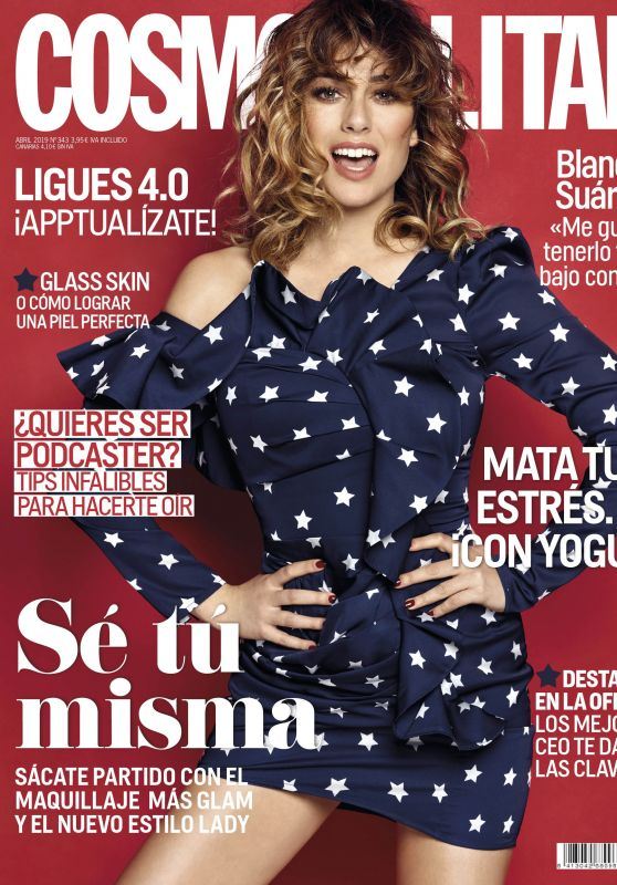 Blanca Suárez - Cosmopolitan Magazine Spain April 2019