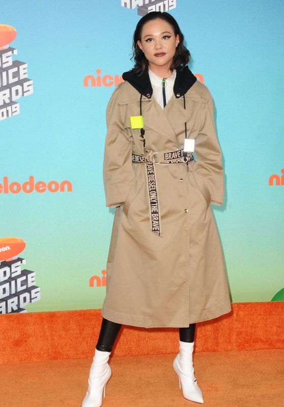 Breanna Yde – Kids' Choice Awards 2019
