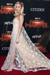 """Brie Larson - """"Captain Marvel"""" Premiere in Hollywood"""