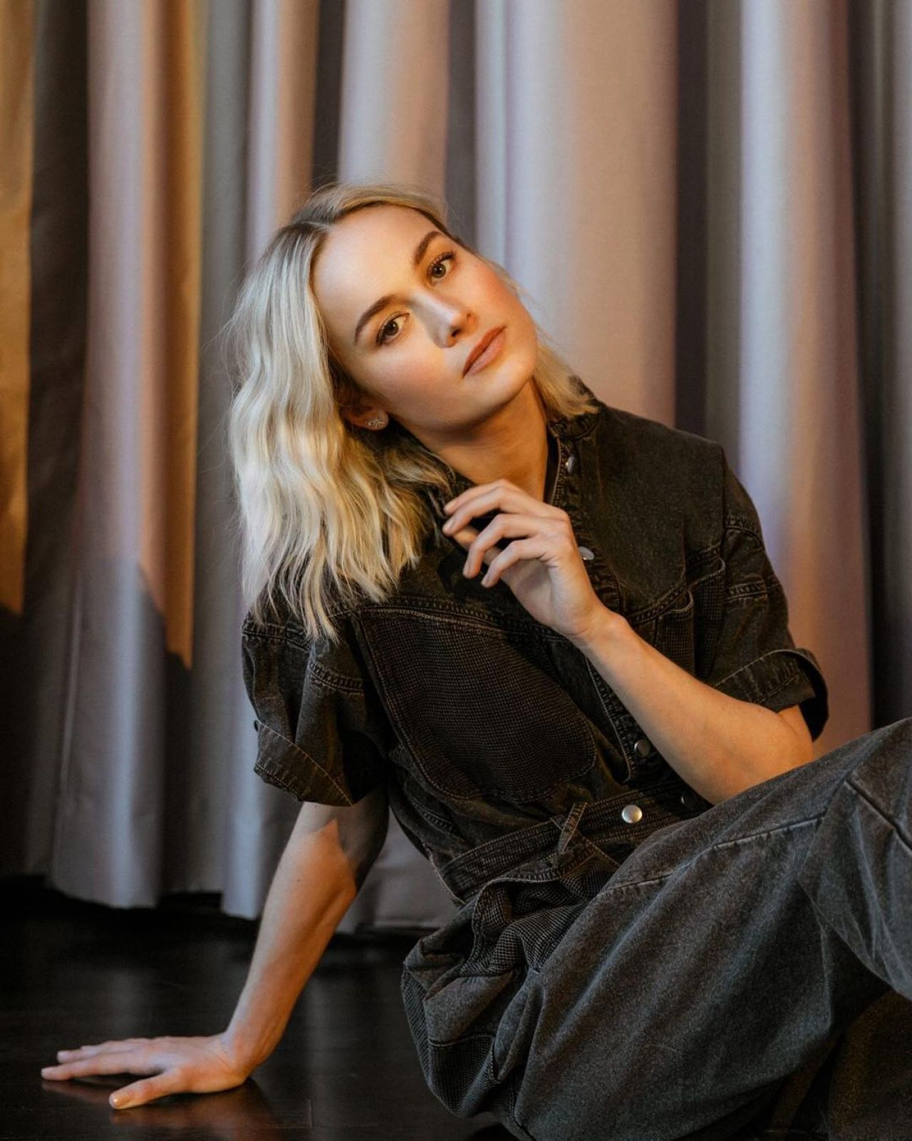 Brie Larson very nice Who What Wear photo shoot