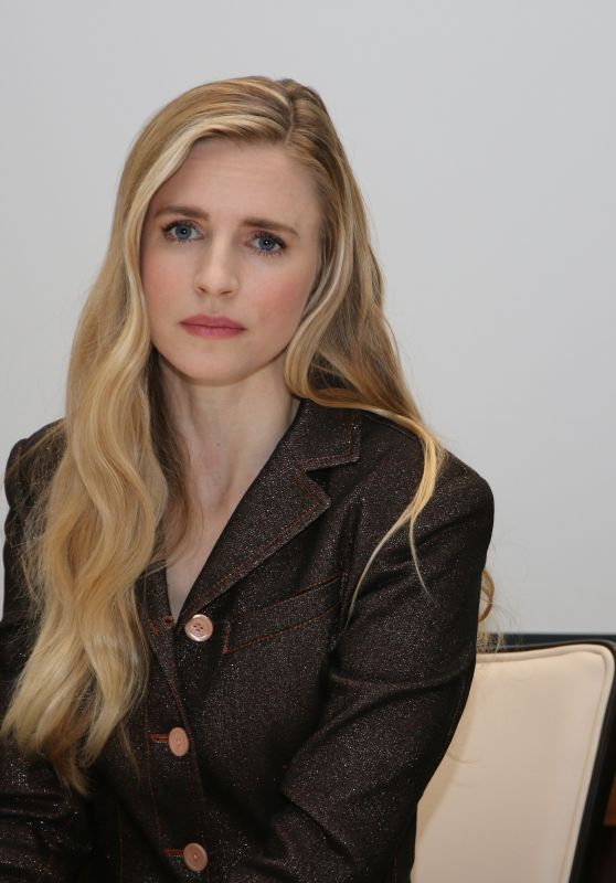 "Brit Marling - ""The OA Part II"" Press Conference in LA 03/13/2019"