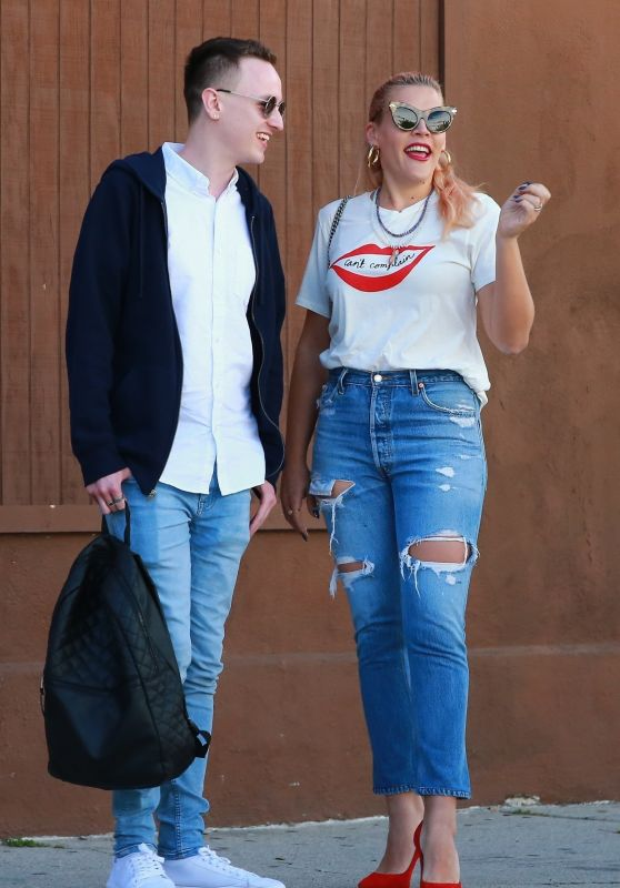 Busy Philipps - Out in LA 03/20/2019