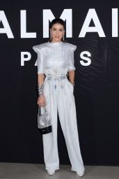 Camila Coehlo – Balmain Fashion Show in Paris 03/01/2019