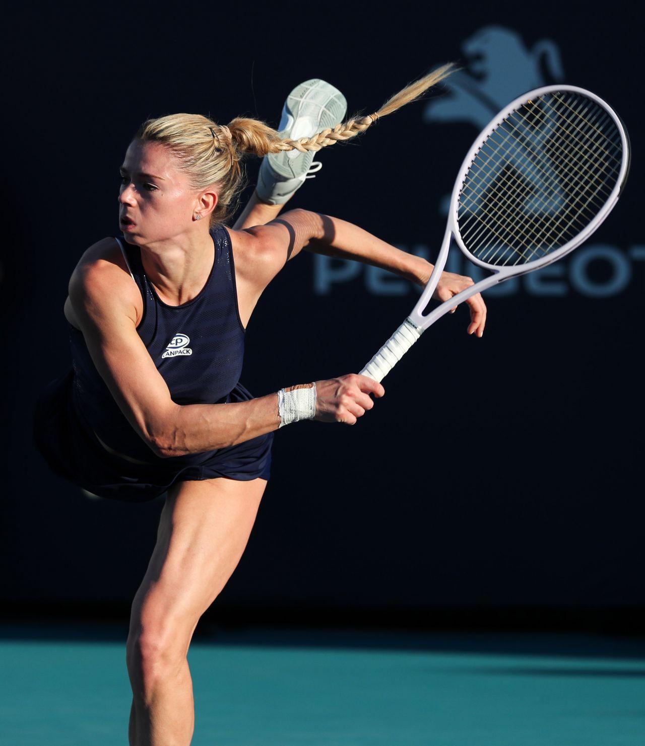 Camila Giorgi Miami Open Tennis Tournament 03 22 2019