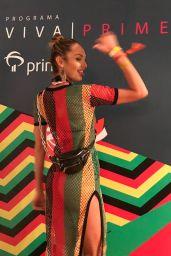 Candice Swanepoel - Programa Viva Prime Event in Bahia 03/03/2019
