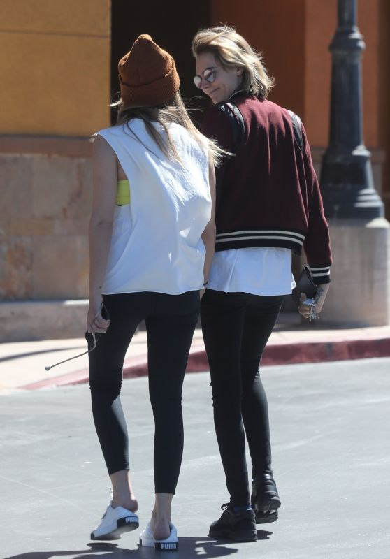 Cara Delevingne  and Ashley Benson - Shopping in Studio City 03/16/2019
