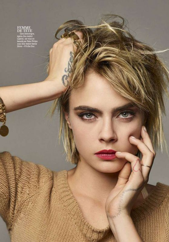Cara Delevingne - Madame Figaro Magazine March 2019 Issue