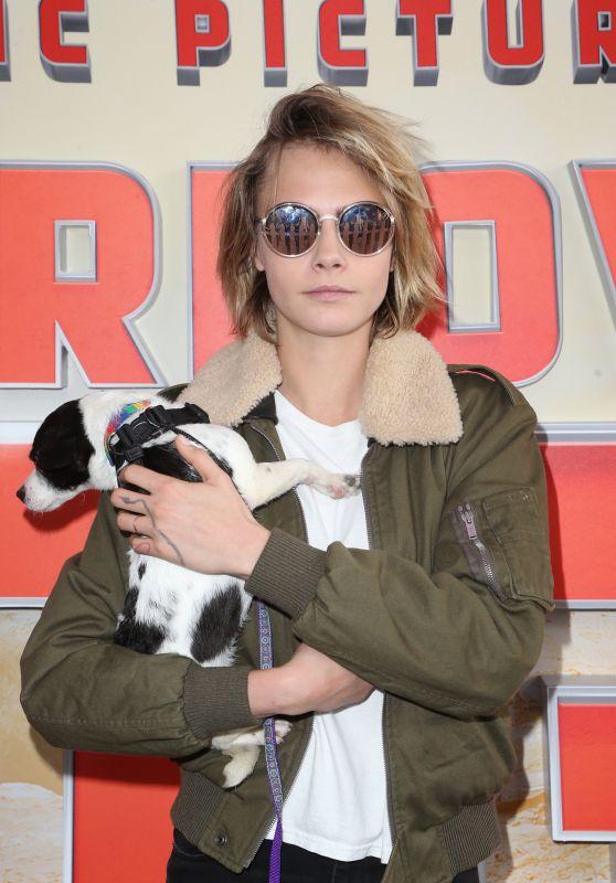 "Cara Delevingne - ""Superpower Dogs"" World Premiere in LA"