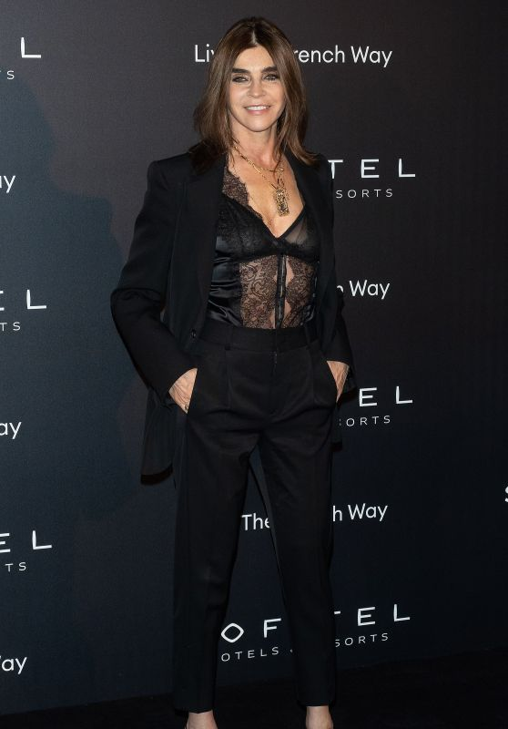 Carine Roitfeld – La Nuit Party at Paris Fashion Week 02/28/2019