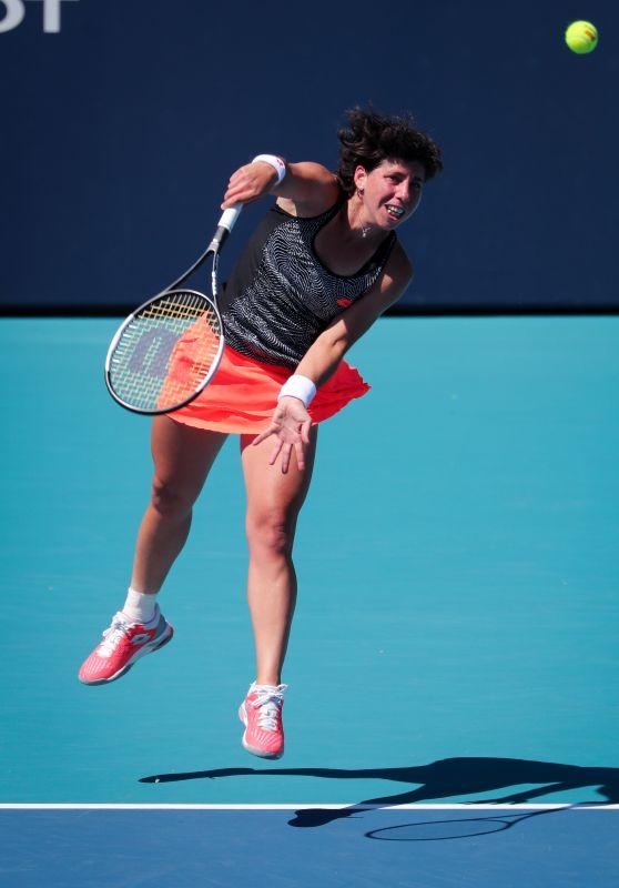 Carla Suarez Navarro – Miami Open Tennis Tournament 03/22/2019