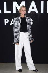 Caroline Daur – Balmain Fashion Show in Paris 03/01/2019