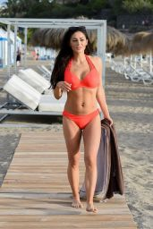 Casey Batchelor in Bikini on Holiday in Tenerife 03/24/2019