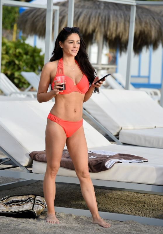 Casey Batchelor in Bikini on Holiday in Tenerife 03/24/2019
