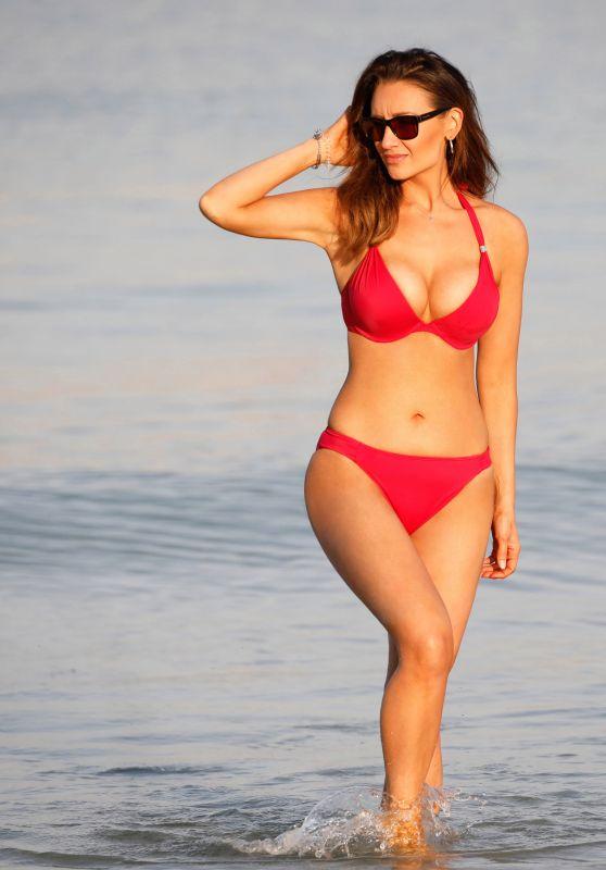 Catherine Tyldesley in Bikini 03/20/2019