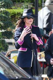 Catherine Zeta-Jones Street Fashion - Paris 03/11/2019