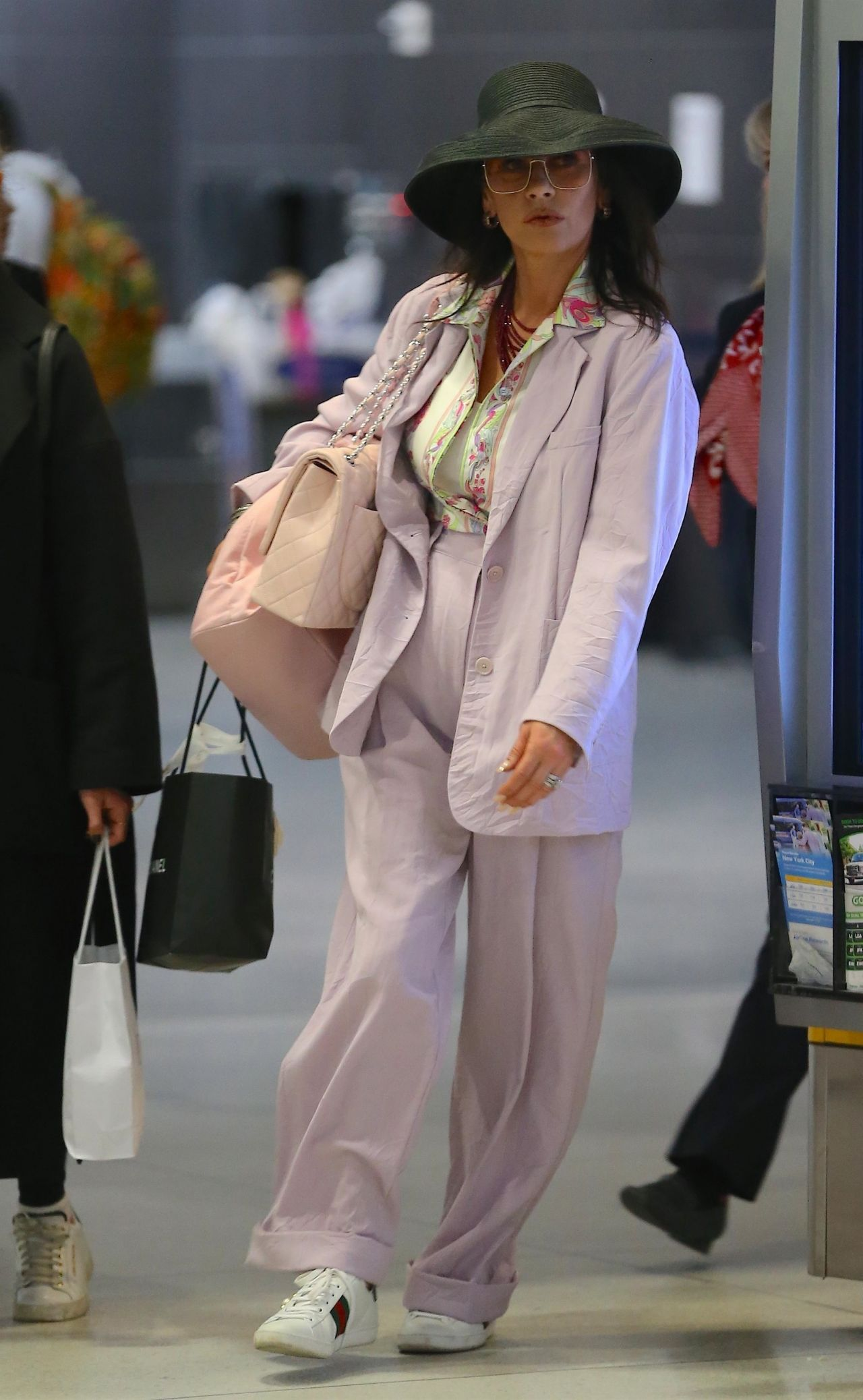 Catherine Zeta Jones Travel Style 03 21 2019