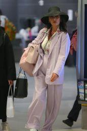 Catherine Zeta-Jones Travel Style 03/21/2019
