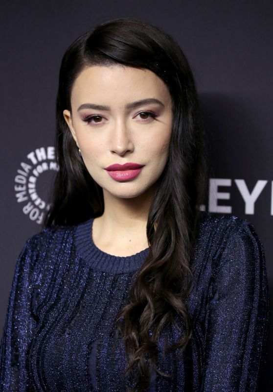 "Christian Serratos - ""The Walking Dead"" TV Show Presentation at PaleyFest in LA 03/22/2019"