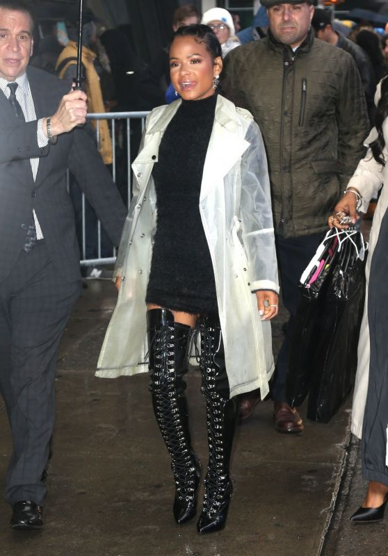 Christina Milian - Arriving at GMA in NYC 03/21/2019