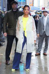 Christina Milian - Leaving Good Morning America in NYC 03/21/2019
