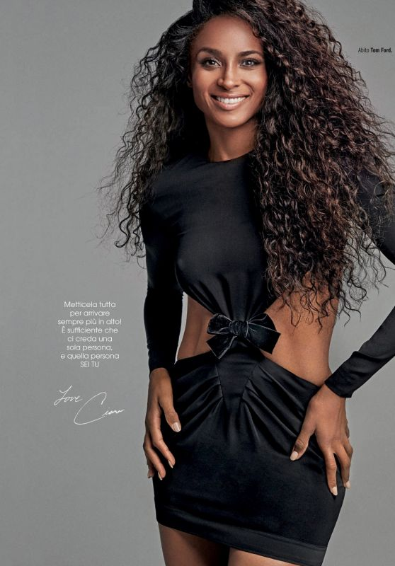 Ciara - Cosmopolitan Magazine Italy April 2019 Issue