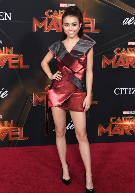 "Ciara Riley Wilson – ""Captain Marvel"" Premiere in Hollywood"