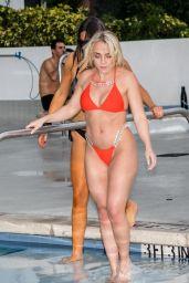 Claudia Romani and Jess Picado - Enjoying the pool in Miami 03/23/2019